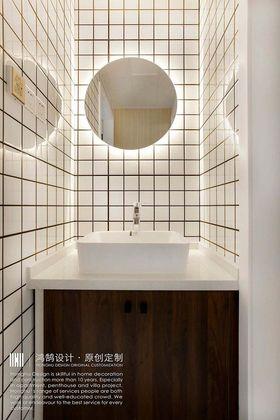 140平米三室兩廳北歐風格衛生間效果圖