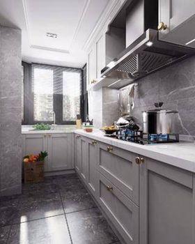 90平米三室一廳北歐風格廚房設計圖