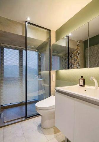 110平米三室两厅北欧风格卫生间图片