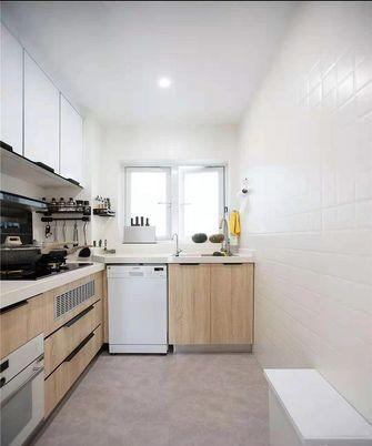 70平米三室两厅日式风格厨房设计图