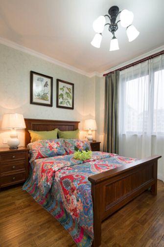 110平米三美式风格卧室欣赏图