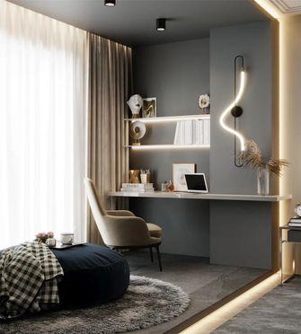 130平米三室两厅欧式风格书房效果图