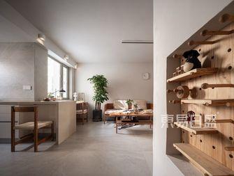 60平米一居室日式风格其他区域设计图