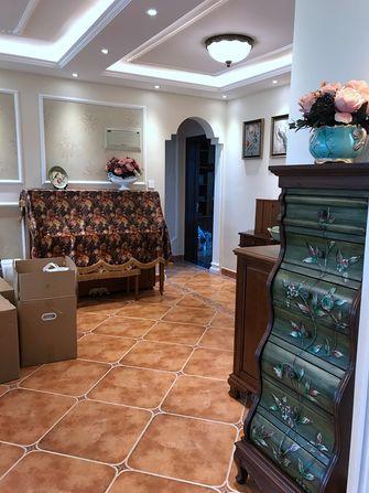 140平米三室两厅美式风格走廊装修图片大全