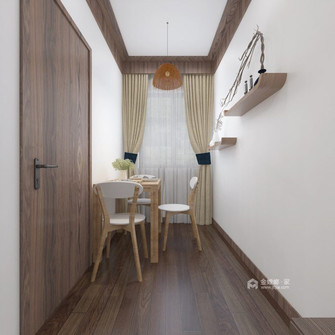 60平米一居室日式风格餐厅装修效果图
