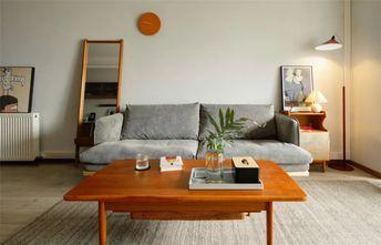 90平米三室一厅日式风格客厅设计图