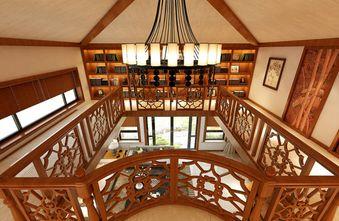 20万以上140平米别墅美式风格楼梯图