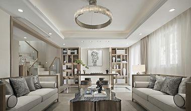 140平米一室两厅中式风格客厅装修案例