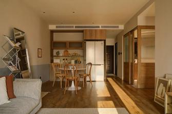 100平米三室两厅日式风格餐厅欣赏图