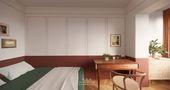 50平米一室一厅混搭风格卧室装修效果图