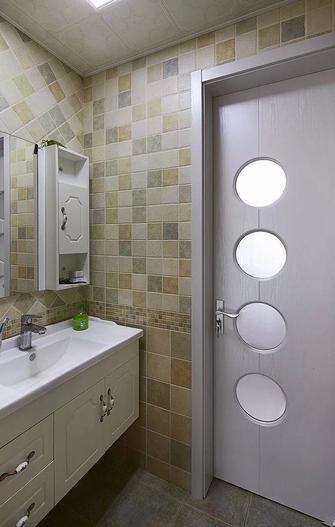 100平米三室两厅田园风格卫生间欣赏图