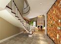 豪华型140平米别墅美式风格楼梯装修图片大全