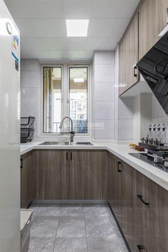 140平米四室两厅现代简约风格厨房装修图片大全