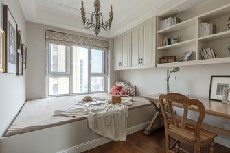 120平米三室两厅法式风格卧室装修案例