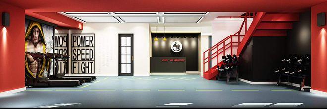 140平米其他风格健身室欣赏图