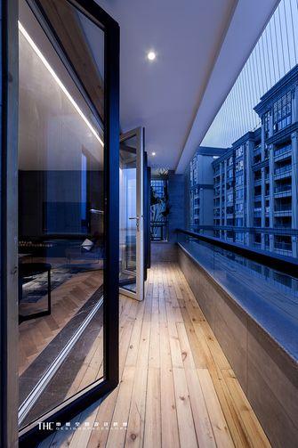 130平米现代简约风格阳台图片