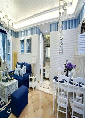 120平米四室一厅地中海风格客厅图片