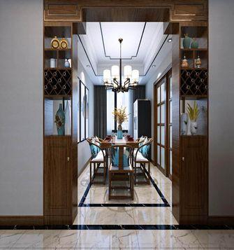 20万以上120平米三室两厅中式风格餐厅装修图片大全