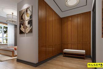 130平米三室一厅中式风格衣帽间装修案例