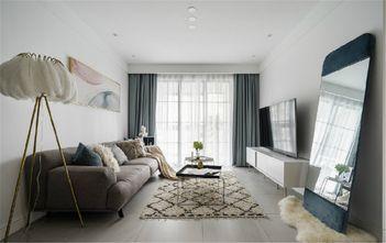 90平米北欧风格客厅图