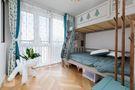 120平米四室一厅混搭风格儿童房图