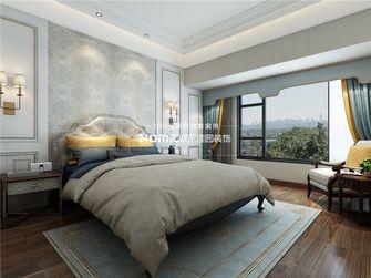 140平米复式美式风格卧室图片大全