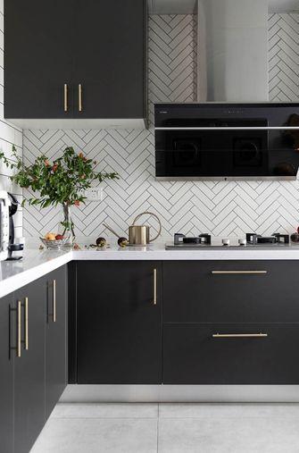 90平米三室一厅北欧风格厨房装修案例