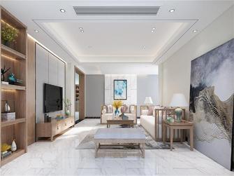 110平米三室两厅新古典风格客厅效果图