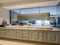 110平米公寓新古典风格厨房设计图