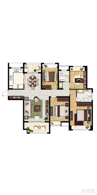 10-15万140平米三室一厅宜家风格其他区域欣赏图