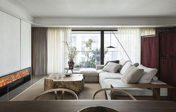 130平米三室两厅中式风格客厅设计图