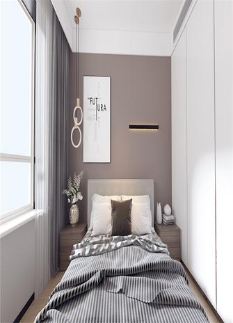 60平米三室一厅现代简约风格卧室装修效果图