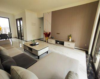 5-10万130平米三室两厅现代简约风格客厅图片大全