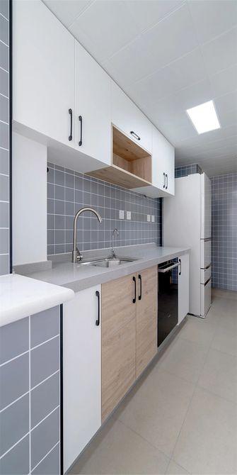 80平米日式风格厨房图
