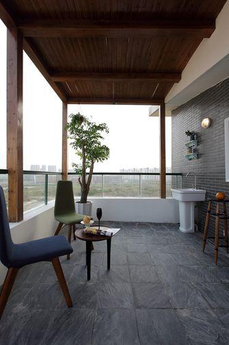 100平米三室一厅地中海风格阳台设计图