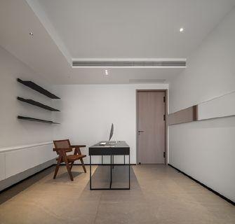 130平米四现代简约风格书房装修案例