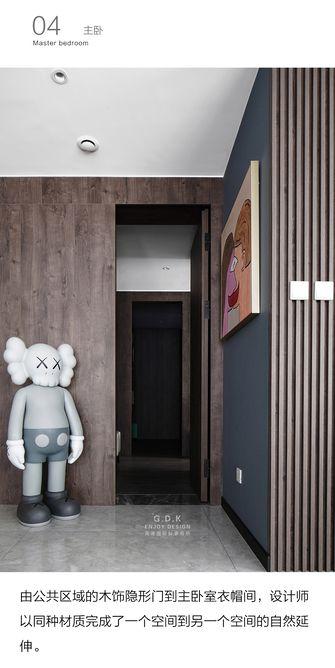20万以上140平米三室两厅现代简约风格卧室欣赏图