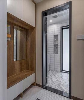 90平米三室兩廳現代簡約風格玄關效果圖