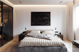 90平米一室一厅现代简约风格卧室效果图