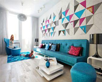 100平米三室一厅中式风格客厅设计图