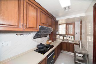 130平米三室两厅中式风格厨房装修案例