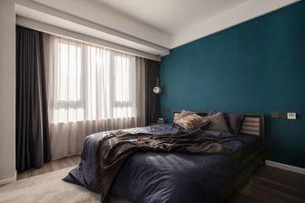 80平米三室两厅中式风格卧室图