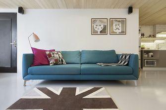 90平米日式风格客厅效果图