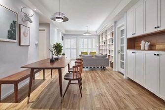 100平米三室两厅日式风格餐厅设计图