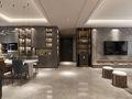 120平米中式风格走廊设计图