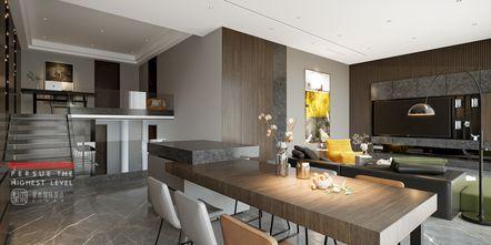 140平米四室四厅现代简约风格餐厅图片大全