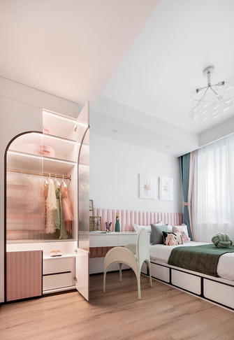140平米四现代简约风格儿童房欣赏图