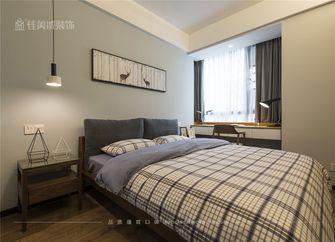 90平米三室一厅宜家风格卧室图片
