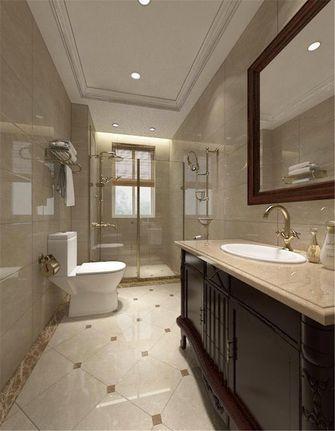 140平米四美式风格卫生间装修案例