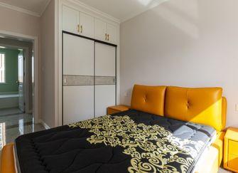 120平米三室三厅混搭风格卧室图片大全